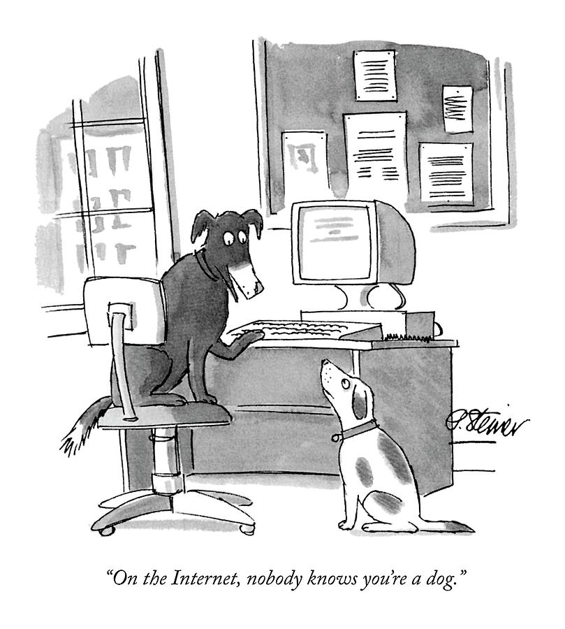 internet dog peter steiner new yorker